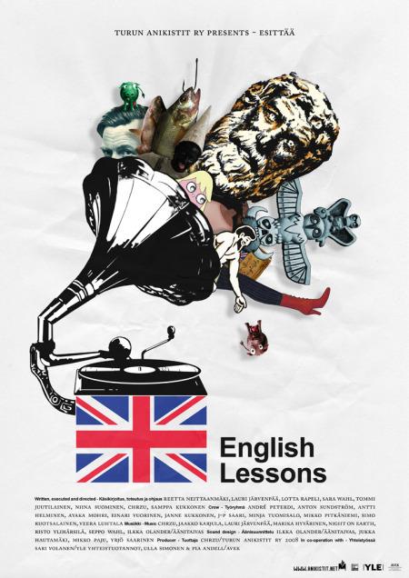 English Lessons - juliste